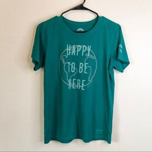 "Life is Good ""Happy to be Here"" Tee"